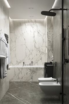 Bathroom cladding - on Behance Best Bathroom Designs, Bathroom Design Luxury, Modern Bathroom Design, Home Interior Design, Interior Architecture, Bad Inspiration, Bathroom Inspiration, Bathroom Cladding, Luxury Bathrooms