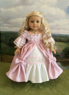 Princess Caroline Ballgown (pattern proof), by Farmcookies via Etsy, $72.00