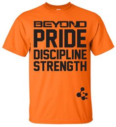 Official Tee - Orange by Beyond Yourself