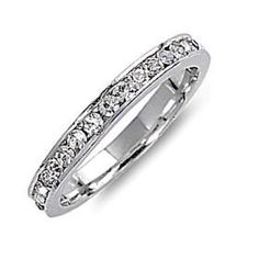 Sterling Silver Stackable Eternity Band Ring 0.96ct Russian Ice on Fire CZ Bailey (sizes 4 to 12) 1000 Jewels. $24.00. The Bailey serves as the anchor of our Montana line of stackable eternity band rings.. Works equally well as an anniversary, wedding or fashion band ring!. Measuring only ~2.5mm in width, they are a great size for stacking multiples of them together.. We regularly stock these in US sizes 4 through 12!. Made with Solid 925 Sterling Silver with prote...