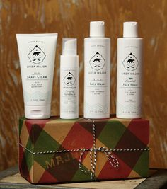 ursa major skin shave/skin care products.