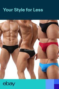 4aa0dce0b48 Mens Seamless Athletic Compression Boxer Briefs Shorts Underwear 2 Size Men's  Underwear, Big Men Fashion