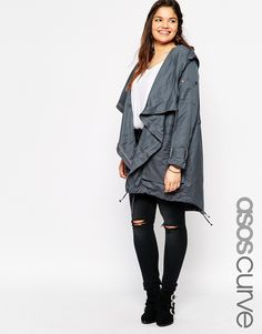 ASOS CURVE Waterfall Parka