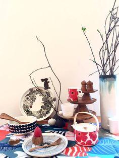 Shops, Easter Table, Marimekko, Flower Power, Ikea, Dish, Table Decorations, Lifestyle, Spring