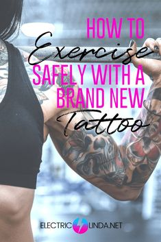 The tattoo is an open wound and is very receptible to bacterias during the first week, but there are ways to still be able to exercise with a new tattoo. Tattoo Signs, Zodiac Sign Tattoos, Name Tattoos, Mini Tattoos, Body Art Tattoos, Cool Tattoos, Female Tattoos, Post Tattoo Care, First Tattoo Tips