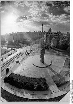 ( Leninplatz ) Platz der Vereinten Nationen - Berlin 1988