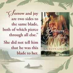 #BetweenTwoShores releases three weeks from today! This little snippet from the book is Catherine Stands-Apart speaking with Samuel Crane. I can't wait for you to meet these characters.