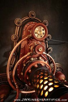 the Braxtonian Lantern: a hand-made steampunk styled lamp - - Steampunk Motorcycle, Steampunk Gun, Steampunk Gadgets, Steampunk Fashion, Cyberpunk, Home Electrical Wiring, Steampunk Furniture, Creative Lamps, Entryway Lighting