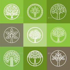 Tree Logo Set                                                                                                                                                                                 More