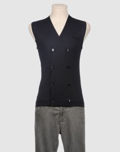 Fancy - PAOLO PECORA Men - Sweaters - Sweater vest PAOLO PECORA on YOOX United States