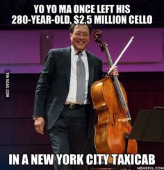 As a cello player, this is painful...