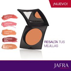 Nuevo Rubor en Crema de Larga Duración. ¡Ahora en 5 tonos! #jafra #Ajafracosmetics