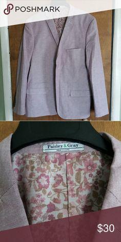 Paisley & Gray Blazer Gently worn lilac two button blazer. Paisley & Gray Suits & Blazers Sport Coats & Blazers
