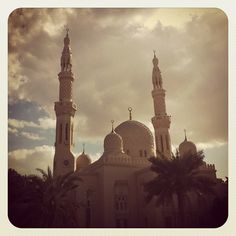 mosque on Jumeirah Road, dubai