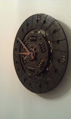 Clutch Disk Clock Subaru by cwhillvt on Etsy, $65.00