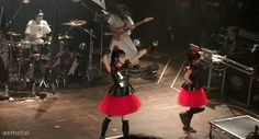 ax-metal wing — BABYMETAL CHICAGO 2015 Road of Resistance. Can you...