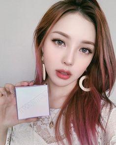 Korean Makeup Look, Asian Eye Makeup, Korean Beauty, Asian Beauty, Pony Makeup, Face Makeup, Beautiful Lips, Beautiful Asian Girls, Pony Korean