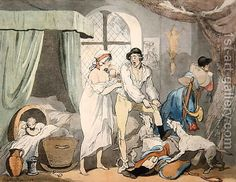 "Credit: ""Four o'Clock in the Country"", pub. 1788 (coloured etching with aquatint) (pair of Rowlandson, Thomas / Private Collection / The Bridgeman Art Library Fine Art, Poster Prints, Canvas Prints, Caricature, Image, The Fox And The Hound, Art, Heritage Image, Fine Art Prints"