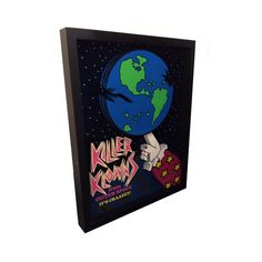Killer Klowns Movie Poster Killer Klowns from Outer Space Artwork 3D Pop Art Clowns