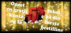 Register rabat! Opret en konto hos os og bliv en af vores faste kunder!   http://www.shop.joannashudpleje.com/logind?back=my-account