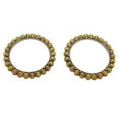 Certified  Antique traditional old Silver Gold polish Bracelet Bangle Xmas gift #viditajewels