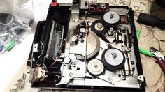自宅録音研究所|Recording Audio At Home: SONY オープンリール テープレコーダー TC-222L 1969年のリペア|修理