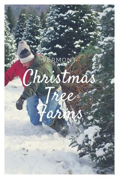Before you set out to tag, cut, carry and bale your Christmas tree this season, check out a few of our favorite places in Vermont to go.
