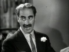 Groucho or Kevin, whichever
