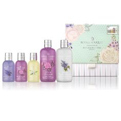 This luxury bodycare gift set by Baylis and Harding includes some of their favourite fragrances, presented in a beautiful box she's sure to love.