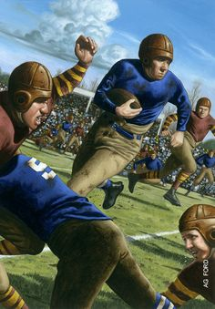 Here's how the NFL took its initial steps in Dayton at its inaugural football game more than 90 autumns ago. | Ohio History | OhioMagazine.com