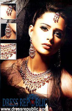 Style DRJ1004, Product code: DRJ1004, by www.dressrepublic.com - Keywords: Ruby Jewellers, Hanif Jewellers, ARY Jewelry, Pakistani Jewelry Online Shops