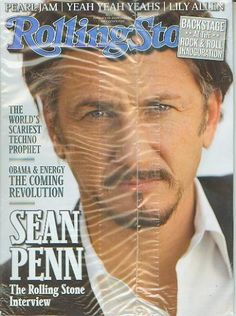Rolling Stone Magazine Issue 1072 - February 19th, 2009 - Sean Penn: The Rolling Stone Interview. Rolling Stone Magazine - Complete Issue. Cover Feature: Sean Penn. Issue #1072 - February 19, 2009.