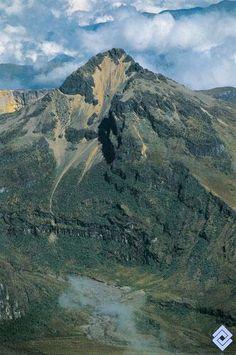 Volcán El Cisne, Colombia.  Fotógrafo: Santiago Montes