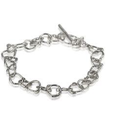 Swelter Fine Silver Bracelet www.kirstenhendrich.com