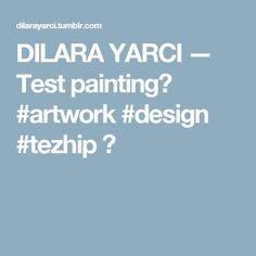 DILARA YARCI — Test painting🤔 #artwork #design #tezhip 🎨