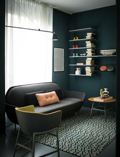 Republic of Fritz Hansen Store, Milano, 2012 Great Wall colour