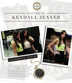 SPOTTED - The younger sibling of the Kardashian-Jenner clan Kendall Jenner was wearing her favourite Mi Moneda coin necklace Kardashian Jenner, Kendall Jenner, Seventeen Magazine, Touching Herself, Latest Jewellery, Coin Necklace, Sibling, Las Vegas, Daisy