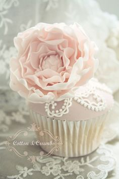 Peony cupcakes | Flickr - Photo Sharing!