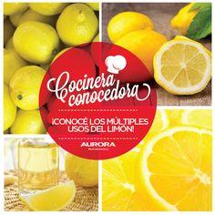 1) Aromatiza: Llená tu hogar de un riquísimo aroma colocando cáscaras de limón sobre la hornalla a fuego lento. 2) Aleja a los bichos: Eliminá cualquier plaga vertiendo jugo de limón por los lugares que recorren. 3) Desinfecta y saca las manchas: Frotá la pulpa sobre la superficies y dejalo reposar un rato antes de enjuagar. 4) Elimina el mal olor de la heladera: Dejá trozos de algodón mojado en jugo de limón dentro de la heladera durante todo el día.