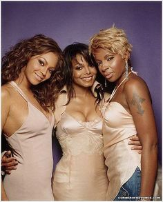 Beyonce, Janet Jackson, and Mary J. Blige