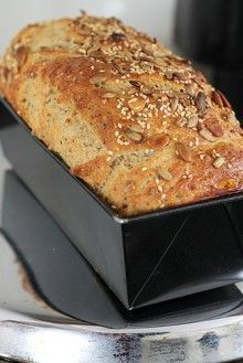 domácí pečivo bez pekárny Cookbook Recipes, Bread Recipes, Cooking Recipes, Good Food, Yummy Food, Tasty, Kidney Friendly Foods, Dubai Food, Pan Integral