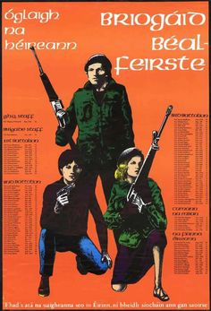 Irish Republican Army propaganda poster