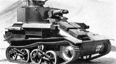 British Tanks of the Inter-war Decades - 1936-1940 - Vickers Light Tank Mk VI