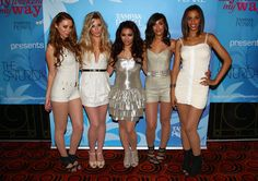 Frankie Sandford Photos Photos - (L-R) Una Healy, Mollie King, Vanessa White, Frankie Sandford and Rochelle Wiseman of The Saturdays pose before going onstage at the Tampax Pearl VIP party at Oceana Nightclub on August 12, 2009 in Watford, England. The event celebrates the launch of the new Tampax Pearl My Weekend My Way campaign. - The Saturdays Perform At The Tampax Pearl VIP Party