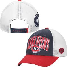 17606d686a8 Montreal Canadiens Old Time Hockey Blaster Adjustable Hat - Navy Blue   MontrealCanadiens