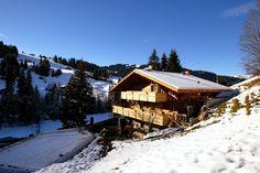 A Gstaad, en Suisse, le chalet de Johny Halliday