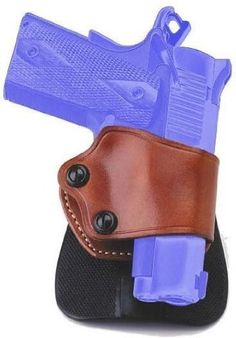 Galco Yaqui Paddle Holster for Beretta 92, 96, Sig Sauer P220, P226, P229, Glock 17, 19, 22, 23, 26, 27, 31, 32, 33, 36 (Tan, Right-hand) by Galco. $61.56. Galco once again spearheaded progress in the holster industry with the introduction of the Yaqui Paddle. Galco was the first to update the basic Yaqui holster design with tension screws in 1992, an improvement in holster fit that was soon adopted by every holster maker, large and small. The adaptation of the Yaqui desig...