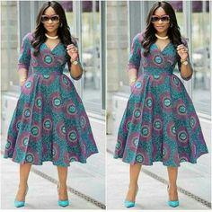 Linda s Dress African Attire, African Fashion Dresses, African Wear, African Dress, Fashion Outfits, Ankara Dress Designs, Maxi Wrap Dress, Trendy Clothes For Women, Ankara Styles