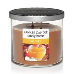 Yankee Candle simply home 10-oz. Hot Cider Jar Candle will have my dorm smelling great! #PCandKohlsBTS