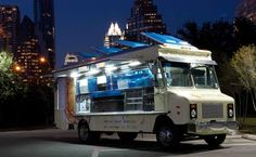 "The Daily Meal recently compiled a list of Best Food Trucks in America,"" and three Austin trucks took top slots: Coreanos, The Mighty Cone, and The Peached Tortilla. Popular Recipes, New Recipes, Popular Food, 1960s Food, Mobile Food Trucks, Austin Food, Austin Tx, Best Food Trucks, Meals On Wheels"